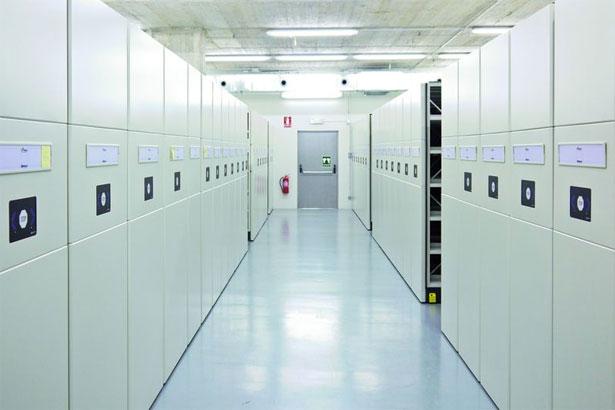 Archivo movil rotativo electrico Eun