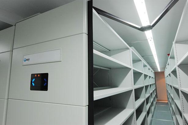 Archivo movil rotativo electronico Eun